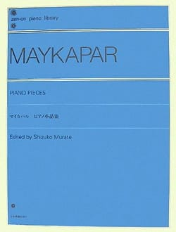 Samuel Moïseevitch Maykapar - Piano Pieces - Sheet Music - di-arezzo.com