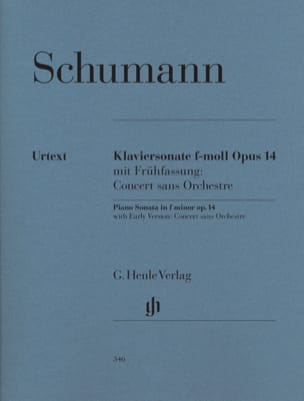 SCHUMANN - Piano Sonata in F minor op. 14 - Sheet Music - di-arezzo.com