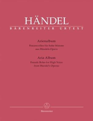 HAENDEL - Arienalbum Frauenrollen Für Hohe Stimme - Partition - di-arezzo.fr