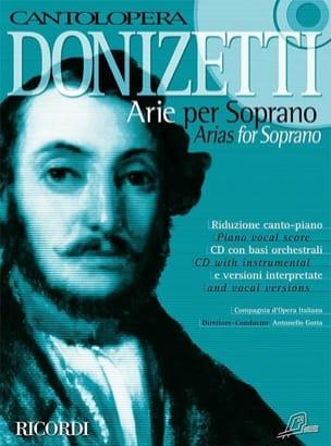 Gaetano Donizetti - Arie Per Soprano - Partition - di-arezzo.fr