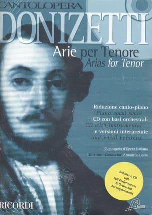 Arie Per Tenore - Gaetano Donizetti - Partition - laflutedepan.com