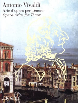 VIVALDI - Arie D'opera Per Tenor - Sheet Music - di-arezzo.co.uk