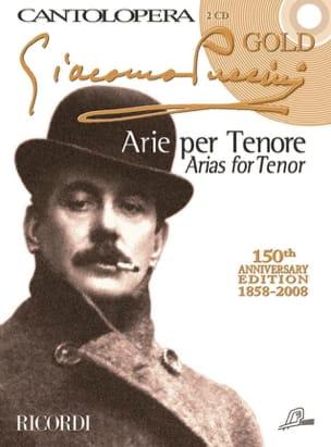 Arie Per Tenore + 2 CD - Giacomo Puccini - laflutedepan.com