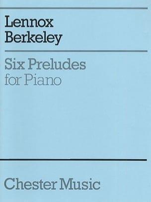 6 Preludes Lennox Berkeley Partition Piano - laflutedepan