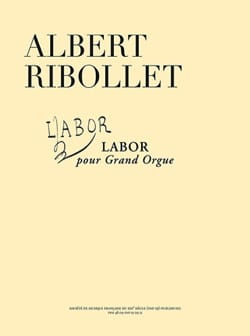 Labor - Albert Ribollet - Partition - Orgue - laflutedepan.com