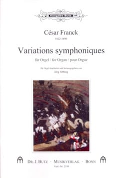 César Franck - Variations Symphoniques - Partition - di-arezzo.fr