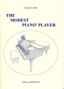 The Modest Piano' Player - Gordon Carr - Partition - laflutedepan.com