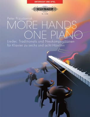 More Hands 1 Piano Peter Przystaniak Partition Piano - laflutedepan