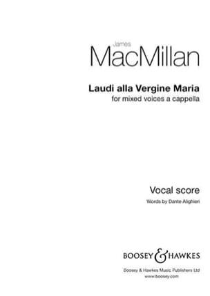 James Macmillan - Laudi Alla Vergine Maria - Partition - di-arezzo.fr