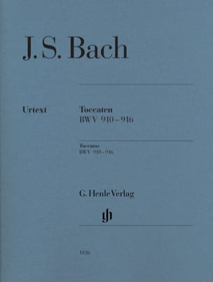 BACH - Toccaten BWV 910-916 - Sheet Music - di-arezzo.co.uk