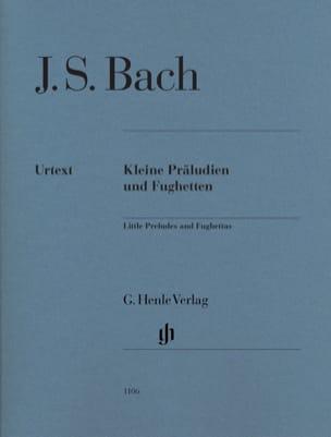 Jean-Sébastien Bach - Petits Préludes et Fugues - Partition - di-arezzo.fr