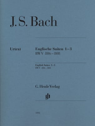 Suites anglaises 1-3 BWV 806-808 - laflutedepan.com