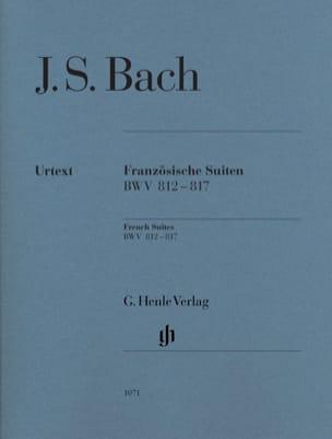 BACH - French Suites BWV 812-817 - Sheet Music - di-arezzo.com