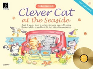 Mike Cornick - Clever Cat At The Seaside. 4 manos - Partitura - di-arezzo.es