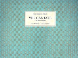 Francesco Bartolomeo Conti - Cantate Con Instromenti Parte Prima - Partition - di-arezzo.fr