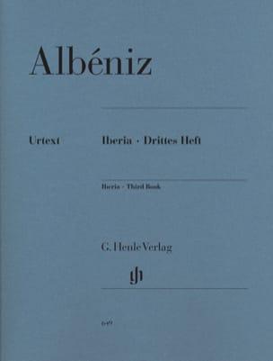 Isaac Albeniz - イベリア - 第3冊 - 楽譜 - di-arezzo.jp