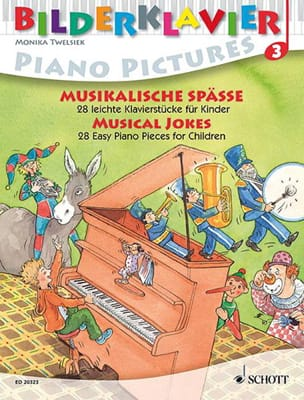 Musical Jokes - Partition - Piano - laflutedepan.com