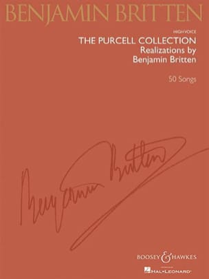 Purcell Henry / Britten Benjamin - The Purcell Collection. Voix Haute - Partition - di-arezzo.fr