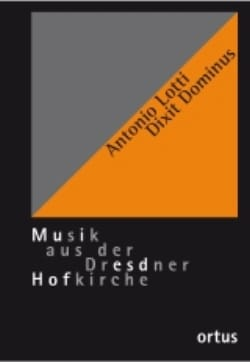 Antonio Lotti - Dixit Dominus. Conducteur - Partition - di-arezzo.fr