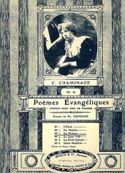 Cécile Chaminade - Les Pêcheurs Op. 99-3 - Partition - di-arezzo.fr