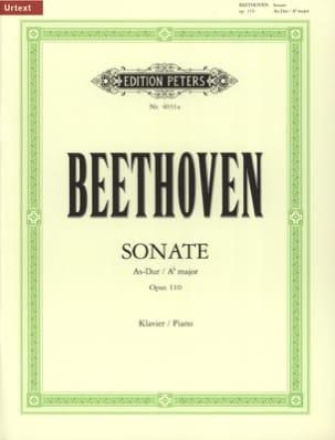 Ludwig van Beethoven - Sonate pour piano n° 31 en la bémol majeur Op. 110 - Partition - di-arezzo.fr