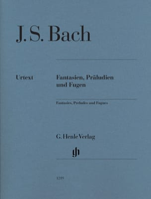 BACH - Fantasies, Preludes and Fugues - Sheet Music - di-arezzo.co.uk