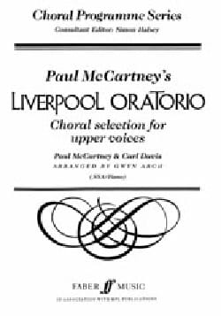 Cartney Mc - Liverpool Oratorio. Selection - Partition - di-arezzo.fr