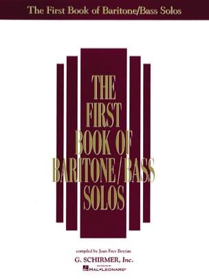 - The 1st Book Of Baritone / Bass Volume 1 - Sheet Music - di-arezzo.com