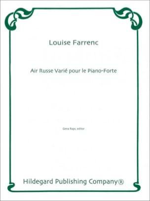 Air Russe Varié Pour le Piano-Forte - laflutedepan.com