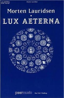 Lux Aeterna Morten Lauridsen Partition Chœur - laflutedepan