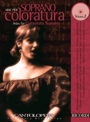 - Arie Per Soprano Coloratura Volume 2 - Sheet Music - di-arezzo.com
