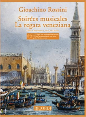 Gioachino Rossini - Musical Evenings / Regata Veneziana 2 CD - Sheet Music - di-arezzo.com