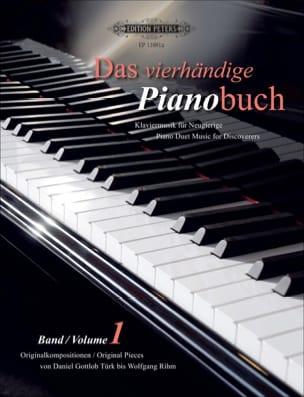- Das Pianobuch Volume 1. 4 Mains - Partition - di-arezzo.fr