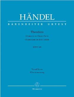 HAENDEL - テオドラHWV 68 - 楽譜 - di-arezzo.jp