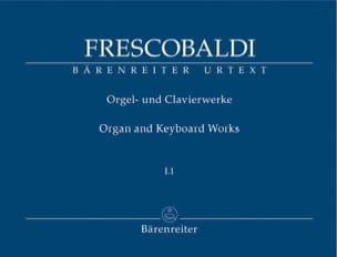 Girolamo Frescobaldi - Works for organ and keyboard. Volume 1-1 - Sheet Music - di-arezzo.co.uk