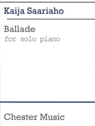Kaija Saariaho - Ballade - Partition - di-arezzo.fr