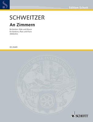 Benjamin Schweitzer - An Zimmern - Sheet Music - di-arezzo.co.uk