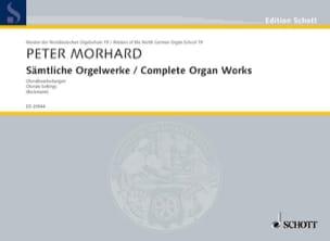 Sämtliche Orgelwerke - Peter Morhard - Partition - laflutedepan.com