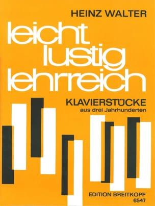 Leichte Lustig Lehrreich - Partition - Piano - laflutedepan.com