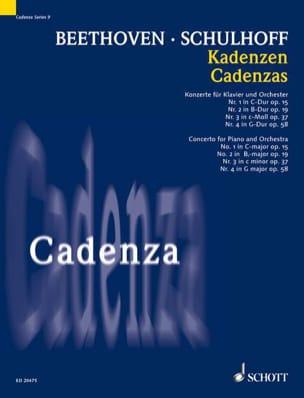 Cadences Pour des Concertos de Beethoven - laflutedepan.com