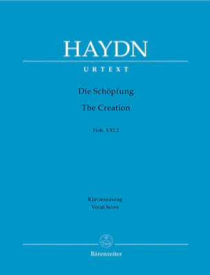 HAYDN - Die Schöpfung - The Creation - Hob 21-2 - Sheet Music - di-arezzo.co.uk