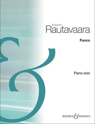 Fuoco Einojuhani Rautavaara Partition Piano - laflutedepan