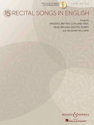 Recital Songs In English. Voix Grave - laflutedepan.com