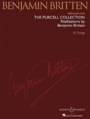 Purcell Henry / Britten Benjamin - The Purcell Collection. Voix Grave - Partition - di-arezzo.fr