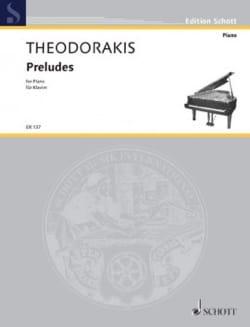 11 Préludes - Mikis Theodorakis - Partition - Piano - laflutedepan.com