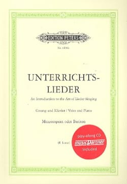 - Unterrichtslieder. Mezzo-Baritone 2 CD - Sheet Music - di-arezzo.co.uk