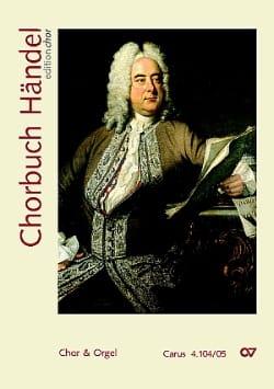 Chorbuch HAENDEL Partition Chœur - laflutedepan