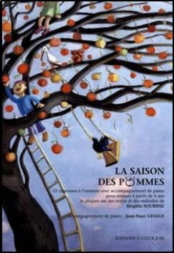 Brigitte Sourisse - The Apples Season - Sheet Music - di-arezzo.com