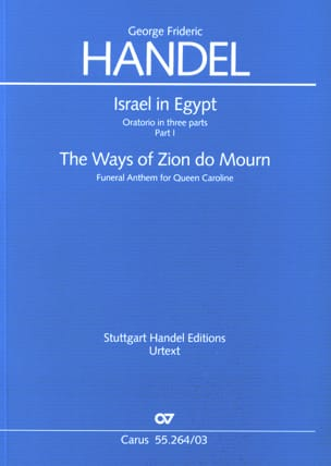 Georg-Friedrich Haendel - The Ways Of zion Do Mourn. Hwv 264 - Partition - di-arezzo.fr