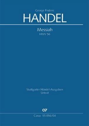 HAENDEL - Mesías HWV 56. - Partitura - di-arezzo.es